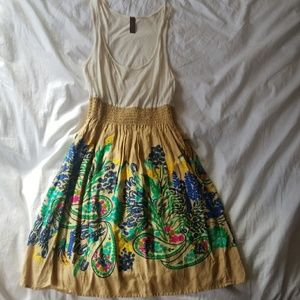 NWOT Adorable Bohemian Dress